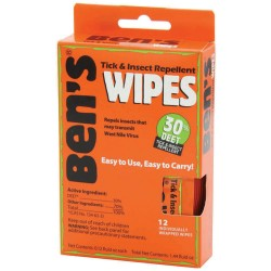 Ben's Wipes Insect Repellent