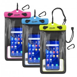 "WATERPROOF PHONE POUCH 5"" X 8"""