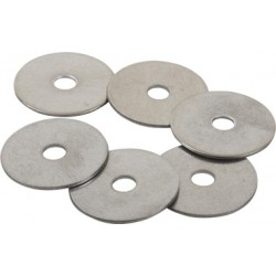 Stainless Steel Fender Washer Packs