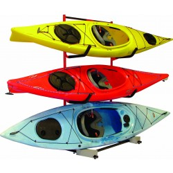 3 Boat Free Standing Storage Rack
