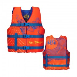 Youth Character Vest - Orange
