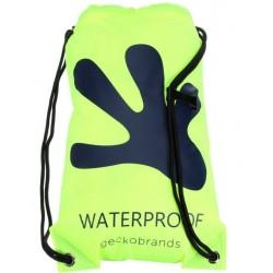Gecko Waterproof Drawstring Backpack