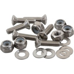 Stainless Steel Oval Head Machine Screw Fastener Packs