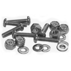 Stainless Steel Pan Head Machine Screw Fastener Packs