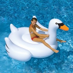"75"" Inflatable Swan"