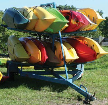 16 Haul Kayak Trailer