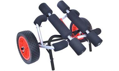 Malone WideTrak ATB Large Kayak/Canoe Cart - No-Flat Tires