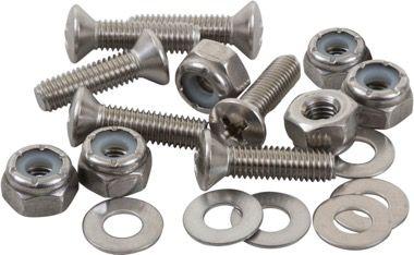 Stainless Steel Oval Head Machine Screw Fastener Packs