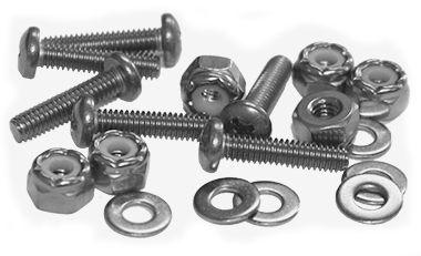 Stainless Steel Pan Head Machine Screw Fastener Packs
