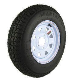 Spare Trailer Tire & Rim