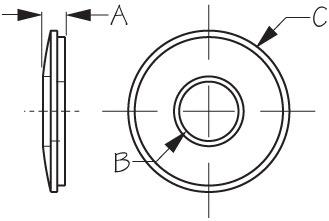 Bonded Washer Diagram