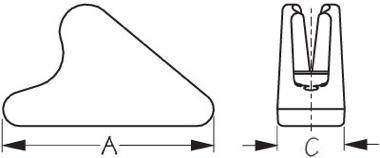 ClamCleat Line-Lok Diagram