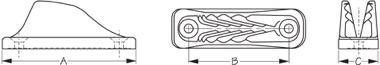 ClamCleat Mini Diagram