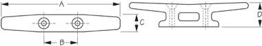 Open Base Cleat Diagram
