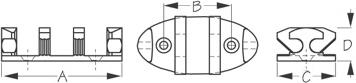 Zig Zag Cleat Diagram